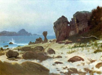 Albert Bierstadt Painting - Bay of Monterey Albert Bierstadt