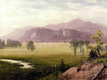 Albert Bierstadt Painting - Conway Meadows New Hampshire Albert Bierstadt
