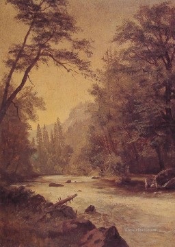 Yosemite Art - Lower Yosemite Valley Albert Bierstadt
