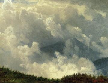 Mountain Mist Albert Bierstadt Oil Paintings