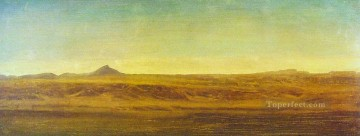 Albert Bierstadt Painting - On the Plains Albert Bierstadt