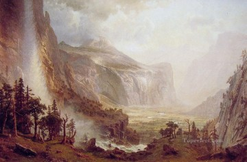 The Domes of the Yosemite Albert Bierstadt Oil Paintings