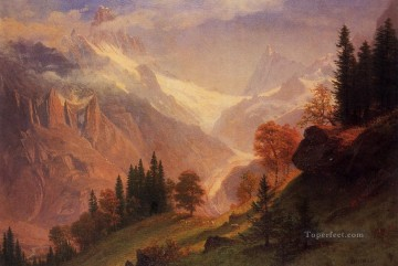 Albert Bierstadt Painting - View of the Grunewald Albert Bierstadt
