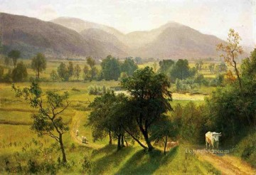new orleans Painting - Conway Valley New Hampshire Albert Bierstadt