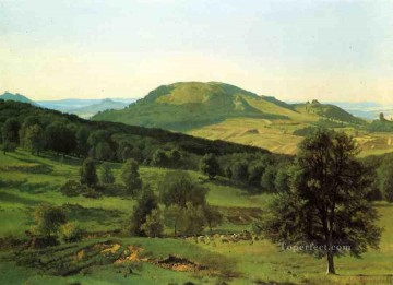 Albert Bierstadt Painting - Hill and Dale Albert Bierstadt