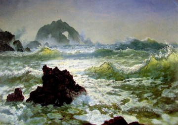 Seal Rock California Albert Bierstadt Oil Paintings