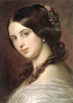 Madchenbildnis lady Eugene de Blaas Oil Paintings
