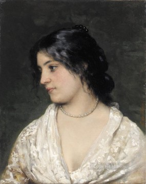 Eugene Art - von The Pearl Necklace lady Eugene de Blaas