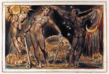 Lake Oil Painting - Los Romanticism Romantic Age William Blake