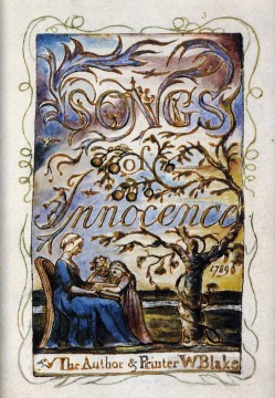 William Canvas - Songs Of Innocence Romanticism Romantic Age William Blake