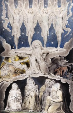 William Blake Painting - The Book Of Job Romanticism Romantic Age William Blake
