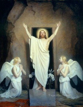 Carl Heinrich Bloch Painting - The Resurrection Carl Heinrich Bloch