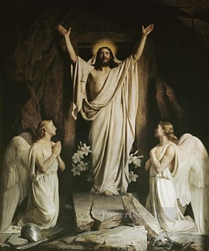 Carl Heinrich Bloch Painting - The Resurrection2 Carl Heinrich Bloch