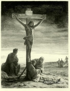 Loch Painting - Crucifixion of Christ Carl Heinrich Bloch