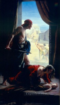 Loch Painting - The Slaughter of the Innocents Carl Heinrich Bloch