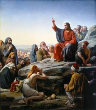 Carl Heinrich Bloch Painting - The Sermon on the Mount Carl Heinrich Bloch