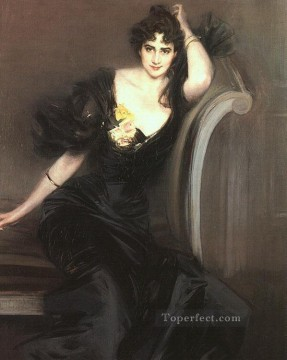 Lady Colin Campbell genre Giovanni Boldini Oil Paintings