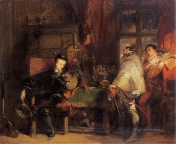 Romantic Painting - Henri III Romantic Richard Parkes Bonington