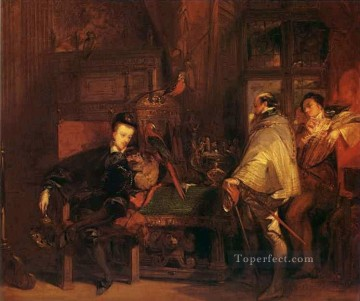 Man Works - Henri III and the English Ambassador Romantic Richard Parkes Bonington