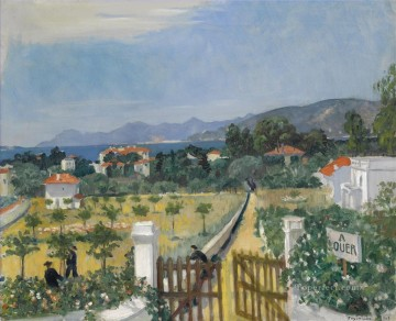 VILLAS ANTIBES Boris Mikhailovich Kustodiev Oil Paintings