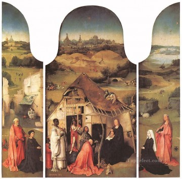 Hieronymus Bosch Painting - Adoration of the Magi1 moral Hieronymus Bosch