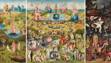The Garden of Earthly Delights by Bosch High Resolution Oil Paintings