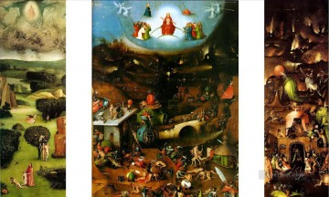 Hieronymus Bosch Painting - the last judgement 1482 Hieronymus Bosch