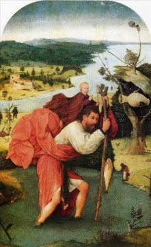 saint christopher Hieronymus Bosch Oil Paintings