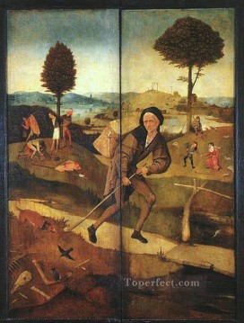 Hieronymus Bosch Painting - The Path of Life outer wings of a triptych moral Hieronymus Bosch