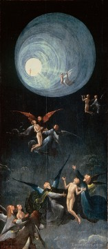 Hieronymus Bosch Painting - ascent of the blessed 1504 Hieronymus Bosch