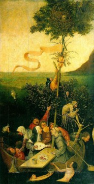 Hieronymus Bosch Painting - The Ship of Fools2 moral Hieronymus Bosch