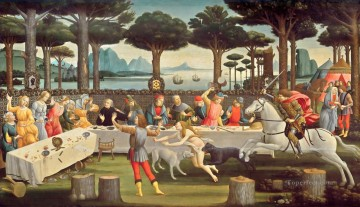 Nastagio third Sandro Botticelli Oil Paintings