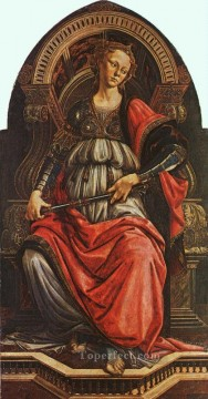 Botticelli Canvas - Fortitude Sandro Botticelli