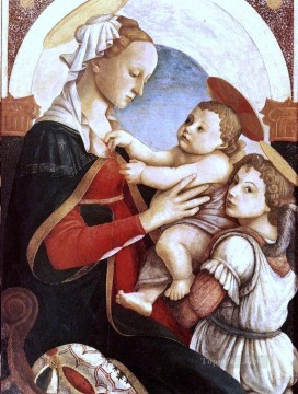 Sandro Botticelli Painting - Madonna And Child With An Angel Sandro Botticelli
