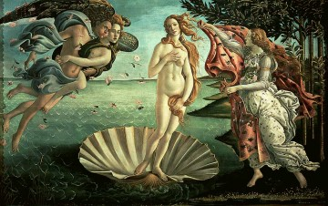 Botticelli Canvas - The Birth Of Venus Sandro Botticelli