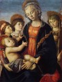 The Virgin And Child With Two Angels Sandro Botticelli