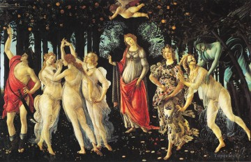 Botticelli Canvas - Primavera Sandro Botticelli