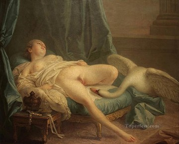 Leda and swan Francois Boucher Oil Paintings