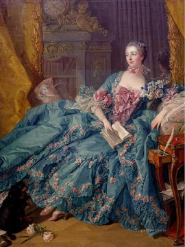 The Marquise de Pompadour Rococo Francois Boucher Decor Art