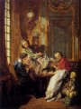 Boucher Francois Morning Coffee Rococo Francois Boucher