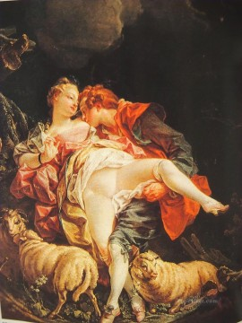 pastoral erotica Francois Boucher Oil Paintings