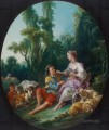 Are They Thinking About the Grape Rococo Francois Boucher