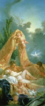 Mars and Venus Francois Boucher Oil Paintings