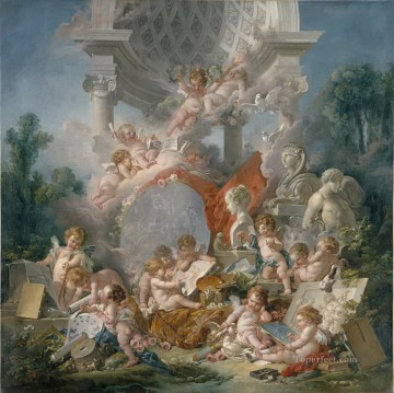 Geniuses of arts Francois Boucher Oil Paintings