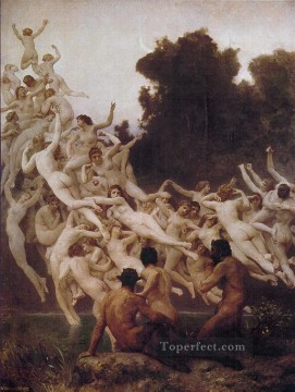Les Oreades 1902 William Adolphe Bouguereau Oil Paintings