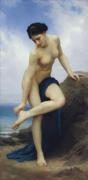 William Adolphe Bouguereau Painting - Apres le bain 1875 William Adolphe Bouguereau