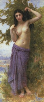 William Adolphe Bouguereau Painting - Beaute Romane 1904 William Adolphe Bouguereau