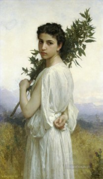 Branche de laurier Realism William Adolphe Bouguereau Oil Paintings