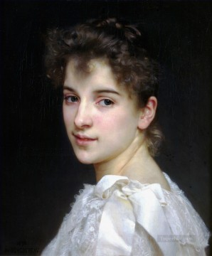 Gabrielle Cot 1890 Realism William Adolphe Bouguereau Oil Paintings