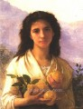 Girl Holding Lemons 1899 Realism William Adolphe Bouguereau